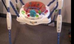 CHILDREN ITEMS IN GOOD CONDITION: SWING HAS 6 SPEEDS, TIMER AND MUSIC: $40.00 HIGH CHAIRS HAVE 3 POSITION RECLINE: $20.00 EACH SLIDE HAS 2 WAYS TO GET ON SLIDE, CHILDE CAN GO UNDER SLIDE 3 DIFFERENT WAYS: $100.00 EASEL HAS PAINT AND MARKER SIDE, THE OTHER