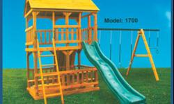WE HAVE LOTS OF SWINGNSET ON SALE NOW AT B& B BUILDINGS . SMALL, MEDIUM,LARGE, PLAYHOUSE,SMALL AND LARGE ARKS . GET YOURS NOW FOR CHRISTMAS !!! WE DO 90 DAYS SAME AS CASH OR RENT-TO-OWN . COME SEE US IN SHELBY OR CHERRYVILLE WE WOULD LOVE TO HELP