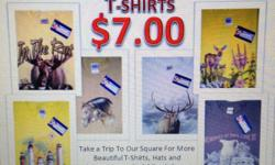 Quality Graphic T-Shirts! $7.00! Funny Cute Religous Hunting Fishing BikerImages for Women and Men! http://squareup.com/market/50-star-clothing-company