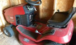 """THIS MOW IS A 12.5 HP. WITH A 30"""" CUT, READY TO GO, WITH A EXTRA FREE CUTTING BLADE! IF YOU ARE WATCHING YOUR BUDGET YOU CAN'T GO WRONG WITH THIS MOW!/ I WILL ALSO THROW IN SOME EXTRAS."""