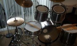 """TAMA ROCKSTAR (RS)DrumSetwithAccessories$800 or best offer...?  email or call...435-315-3609 and please leave a number if no ans...I will respond Includes: - 4""""d x 6"""" Rogers snare Serial #D 38772 (1976 classic)"""