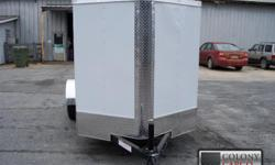 Stock #: custom order Serial #:order Description :::::: standard features of our ai6x12 ta2 enclosed cargo trailer include: 24? atp stoneguard front, new st205 15? bias ply tires, white modular wheels, aluminum tear drop
