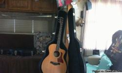 Taylor Acoustic electric Guitar for sale with case