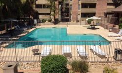 Beautiful one bedroom one bathroom condo in Tempe, newly remodeled with pool view. Vaulted ceiling, canned lighting, porcelain ceramic floors, granite counter tops, new comfort height toilet, mirrored wall in dining room with mirrored beveled