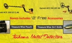 My name is David, I own Texhoma Metal Detectors. I am an ?authorized dealer? for Garret, Minelab, XP, Fisher and Teknetics Metal Detectors and offer a full line of metal detecting accessories.  You can contact me by phone or check out my website