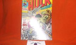 The Incredible Hulk 194,MarvelComics,Dec. 1975!!  Thisa Gem from Marvel's Bronze Age, inNM condition by Overstreet's grading standards and retains full Color & Gloss, sits Flat andis very