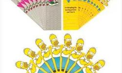 DETAILS: You are looking brandHomer, Bart and the rest of the famly and friends bookmarks! Homer, Bart and pals help readers mark their place in style; a variety of colorful cartoons and knee-slapping sayings add a fanciful fun touch to novels, study