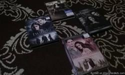DVD's of tv series and movies for sale  This includes:   Tv Series:  True Blood ( includes seasons: 1st,2nd,and the 6th season)  The Vampire Diaries ( includes seasons: 1st,2nd,and the 4th)  The Originals ( 1st