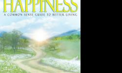 The Way to Happiness is a book by L. Ron Hubbard. The information in this book is worth your happiness. This book is a common sense guide to better living. It's a very easy read. It's $20. You can buy it from us by calling, e-mail, or coming in to our