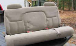 Third seat good condition,out of 1998 suburban,seat was never used.
