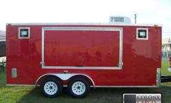 Stock #: CUSTOM ORDER Serial #:ORDER Description: financing available! People will flock to you in this trailer. Give us a call today at -- and get on your way to making more money than you can spend with this state of the art concession trailer. Extra