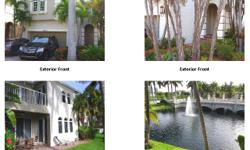 Aventura Lakes, winner of best community in Aventura for several years. This magnificent 4/3.5 is one of the few homes that offers an open water view. And one of the few that has an open and spacious floorplan. Newer SS appliances,granite countertops in
