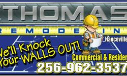 We specialize in commercial remodeling projects all sizes, let us take care of the updating while you run your business.our services: ceramic tile, wall vinyl, millwork, carpet, painting, wall texturing, custom cabinetry and a whole lot more.call Thomas