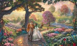 Thomas Kinkade Gone With The Wind Cross Stitch Pattern***L@@K***     ~~**FREE SHIPPING**~~ (PLEASE READ) THE ENTIRE PAGE CAREFULLY BEFORE YOU BUY! These Are Cross Stitch Patterns ONLY.(They Are NOT kits) You SuppLy Your Own Fabric And