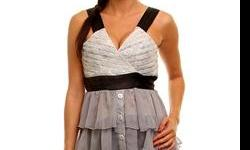 Get this beautiful tier sheer top with lace and ribbon strap for only 22.80! Shop www.fooliard.com now and save on dozens of sweaters, tops and dresses!! Follow us on http://www.twitter.com/fooliard to learn more about our sales and promos!