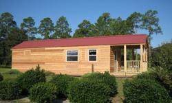 THIS CABIN IS NOT A KIT!!  Cabin is built by Pinnacle Park Homes and is delivered to you fully assembled and ready for use in as little as a day!! If you are looking for a unique and affordable vacation home this could be it!! Cain is classified and