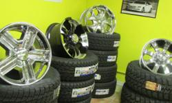We sell all sizes new and used tires and new and used wheels we do auto service for mostly all vehicles we have 2 locations for better service We offer financing for all kinds of customer credit 90 days same as cash no credit needed and 6 months no