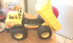 We have a couple of Large Tonka Trucks. For sale. 1 is all metal & 1 is Plastic. They are the bigger Tonka truck's. if interested call the # on the add. Thank youi!