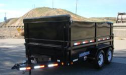 "~~~SALE~~~~MARKED DOWN~~~~PRICE CUT~~~~ Load Trail 83X12' DUMP TRAILER GVWR: 14,000 lb GAWR: 7,000 Lb (ea axle) Couplers: 2-5/16"" Adjustable Safety Chains: 18,800 Lb 5/16 x 28 G#70 Jack: Dropleg 7,000 Lb Axles: 2-7,000 Lb Drop Cambered 2 Elec Brake"