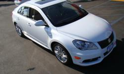 Suzuki has been known historically for their high-performance motorcycles, but did you know that they make high-quality cars as well? Take just a moment to look at the new 2011 Suzuki Kizashi! Don't let the sequence of funny names throw you off; after