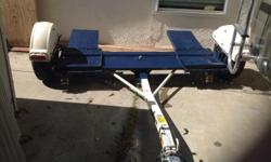 2014 Master Tow tow dolly. Model 80THDEB with LED lights and electric brakes. Used to transport a car to California from Massachusetts. Asking $1500 or best reasonable offer.