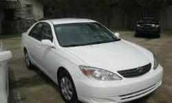 Toyota Camry 2004 white for sale A.C very cold power windows and doors good condition any further questions call me at 8042232052