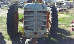 this is a good run farm tractor it runs grate and everythings works it starts easy and the tires all good it has a plow as well on it if you would like more info please call Dave Hill at -- and please no emails or tex