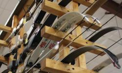 Traditional Recurve Bows available at Archery Outfitters. Back quivers, finger tabs, gloves, arm guards, tip savers, stick on bow rest, feathered fletched arrows and other traditional accessories. With each new traditional recurve purchased, you will