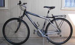 trek 7200multitrack,front suspention,alpha custom alluminum,hibrid.matrix rims.good comiuter bike.mario