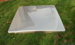 70x90 Leer Bed Cover, fits Chevy Silverado crew cab. Peuter Gray.