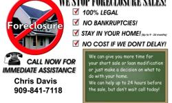 TRUSTEE SALE-FORECLOSURE POSTPONEMENTS EVICTIONS DEFENSE SHORT SALE HOMESAVERS PROGRAM We can help you RIGHT NOW!!!! DON'T LOSE YOUR HOME!!!!! STOP the TRUSTEE SALE or Eviction!!!!! STOP AN UNLAWFUL DETAINER!!!! WE CAN HELP!!!! We can STOP your