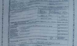 Certificate of Death of Kurt Cobain printed in tshirt