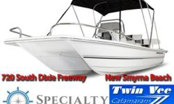 Twin Vee PowerCats at Specialty Marine Center Whether fishing or cruising, Twin Vee boats are best described as without peer in ride andcomfort in any conditions. Built with a unique sharp-entry bow design and full-keel tracking
