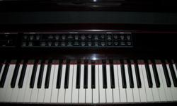 For Sale: One Rudolh Wurlitzer Piano. Medium Oak Color. Excellent Condition. No keys missing. A couple of small marks, but otherwise in very good condition. Bench included. Asking $800.00. One Kurzweil Mark 500 Series Electric Piano with many changes to