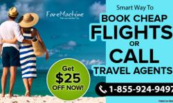 Visit FareMachine website and take advantage of amazing online deals that make your journey in and around USA that much exciting. With deals you can reduce prices of your tickets or win an extra ticket (if you are lucky) and many more facilities. With