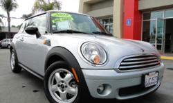 Immaculate 09 Mini Cooper! Unique interior design that sets up a driving experience unlike any you've had! Fuel efficient 4 cylinder engine, manual transmission, power windows, power locks, two-tone leather, only 62,000 miles, cruise control, seating for