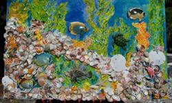 We produce unique vibrant original 3D abstract aquatic art. We useEcofriendly natural materials, made in the USA. Meet the Artist. Custom units can be made to the customers specification. Bring the