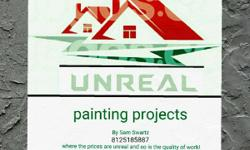 Do you live in a house or apartment? Are you tired of those dirty dingy walls with handprints all over them???  Check out my page @Unrealpaintingprojects here on Facebook and let's discuss how I can transform that mediocre