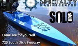 What do you get when you combine a fishing kayak, SUP, and a power boat in one?you get the Solo Skiff, a motorized fishing kayak on steroids? with more ways to fish that you can imagine, more dry storage than any kayak, and even a built in
