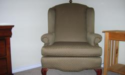 Upholstered chair. North Padre Island. Please callto see. --