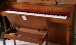 This Yamaha piano, model M500M, is listed on Yamaha blue book price = $6195, I sell it for $2900. It looks like new, with bench and about 40 music books.