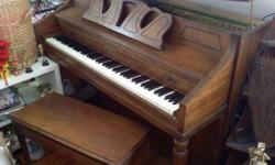 Schafer & Sons upright pianow/seat - excellent condition