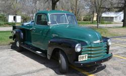 Make: Chevrolet Model: 3/4 Ton Year: 1949 Body Style: Pickup Trucks Exterior Color: Green Interior Color: Brown Doors: Two Door Vehicle Condition: Excellent  Price: $21,000 Mileage:0 mi Fuel: Gasoline Engine: 6 Cylinder