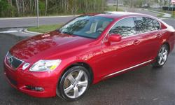 Make:  Lexus Model:  GS 430 Year:  2002 Exterior Color: Red Vehicle Condition: Excellent   Price: $17,000 Mileage:69,000 mi Fuel: Gasoline Engine: 6 Cylinder Drivetrain: Rear wheel drive   Car Specifications Comfort: A/C: Front,