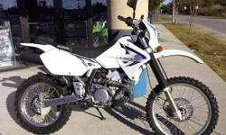I currently have a 2011 Suzuki Drz 400 for sale. This bike is a one owner dual sport with 1,874 miles that features a 400cc single cylinder engine that is liquid cooled, fuel injected and has a 6 speed transmission. The bike is all stock except for