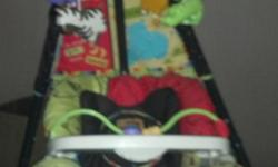 USED BABY SWING WORKS GREAT PLEASE CALL -- AND ASK FOR NANCY IF NO ANSWER LEAVE A MESSAGE REGARDING WHAT YOU ARE CALLING FOR PLEASE DO NOT EMAIL