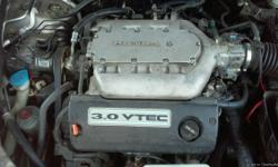 2001 honda accord 3.0 engine and. Auto trans complete.with harness and acc has 138813 miles
