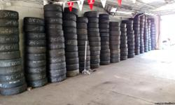 I have a HUGE SELECTION of GOOD USED TIRES .  USED TIRE SIZES ARE:  13, 14, 15, 16, 17, 18, 19 & 20 INCH.  $25/TIRE.  I CAN INSTALL, MOUNT & BALANCE AS WELL.  LOCATED AT 2015A FREEPORT ROAD, NEW KENSINGTON PA 15068.  HOURS OF
