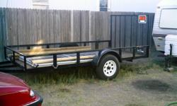 "Have 12' utility trailer single axle, 6' wide,. ""One year old"", has 15 "" tires. located in Tularosa, NM. No personal checks. Sells at Lowes for $1595.00 +tax."