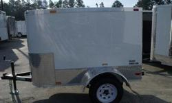 Stock#:custom order Serial#:order Description :::: 12? atp stoneguard front, (1)2000 lb.straight leaf spring axle, e-z lube hub axle, aluminum jeep style fenders, new st205 13? bias ply tires, white modular wheels, screwed exterior, .024 gauge aluminum